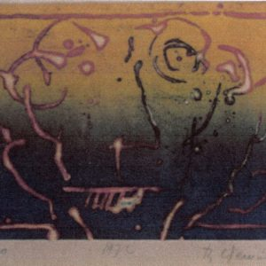 Roger Dewint - Tête - Gravure