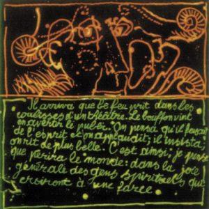 Roger Dewint - Kierkegaard - Gravure