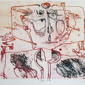 Roger Dewint - Appel - Gravure