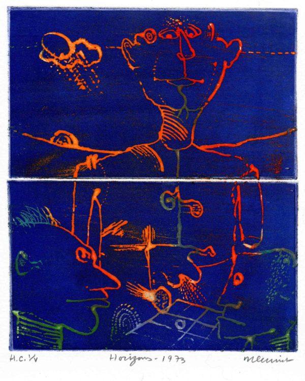 Roger Dewint - Horizon - Gravure