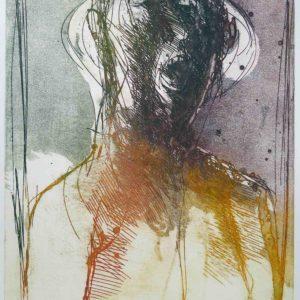 Roger Dewint - Deuxième portrait classique - Gravure