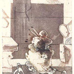 Roger Dewint - L'inquisiteur - Gravure