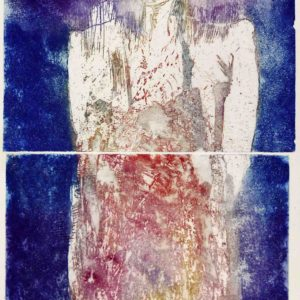 Roger Dewint - Portrait de ma mère - Gravure