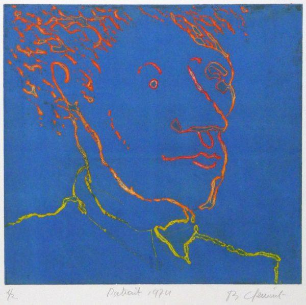 Roger Dewint - Portrait - Gravure