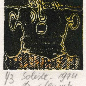 Roger Dewint - Soliste - Gravure
