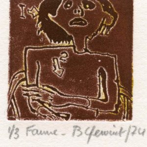 Roger Dewint - Faune - Gravure