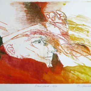 Roger Dewint - Piero's hand - Gravure
