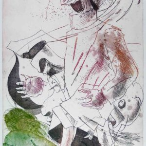 Roger Dewint - La grande nuisance - Gravure