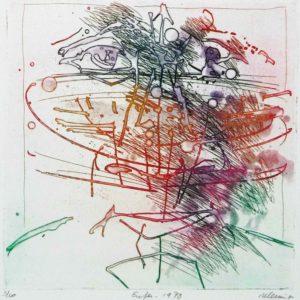 Roger Dewint - Enfer - Gravure