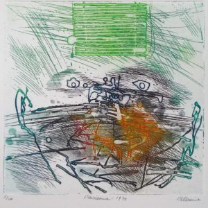 Roger Dewint - Persienne - Gravure