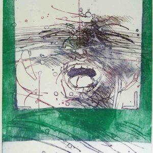 Roger Dewint - Crépuscule - Gravure
