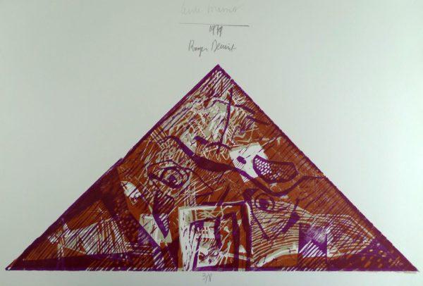 Roger Dewint - Triangle - Gravure