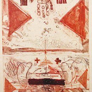 Roger Dewint - Pharaon - Gravure