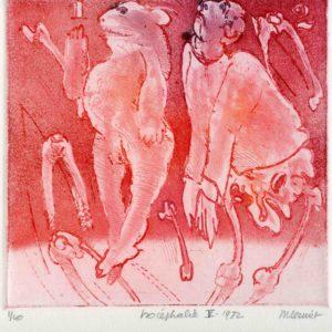 Roger Dewint - Isocephalie 5 - Gravure