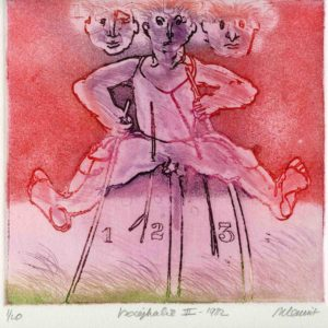 Roger Dewint - Isocephalie - Gravure