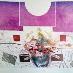 Roger Dewint - Ramses - Gravure