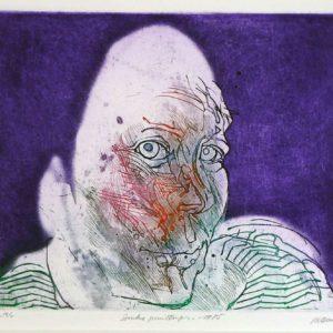 Roger Dewint - Sombre printemps - Gravure