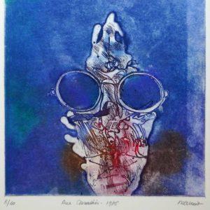 Roger Dewint - Rue Casaderes - Gravure