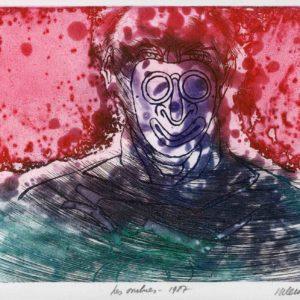 Roger Dewint - Les ombres - Gravure
