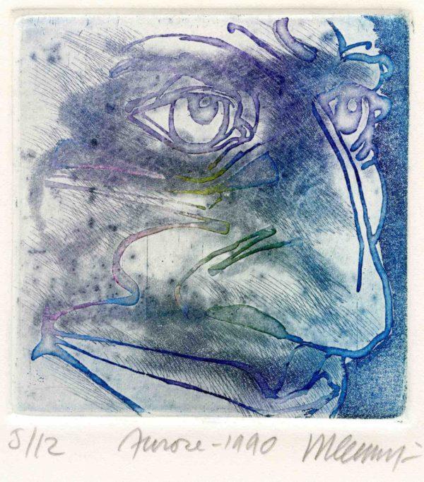 Roger Dewint - Aurore - Gravure