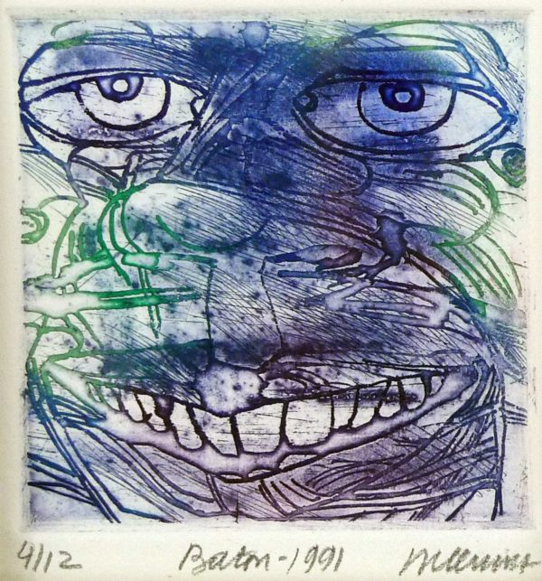 Roger Dewint - Baton - Gravure
