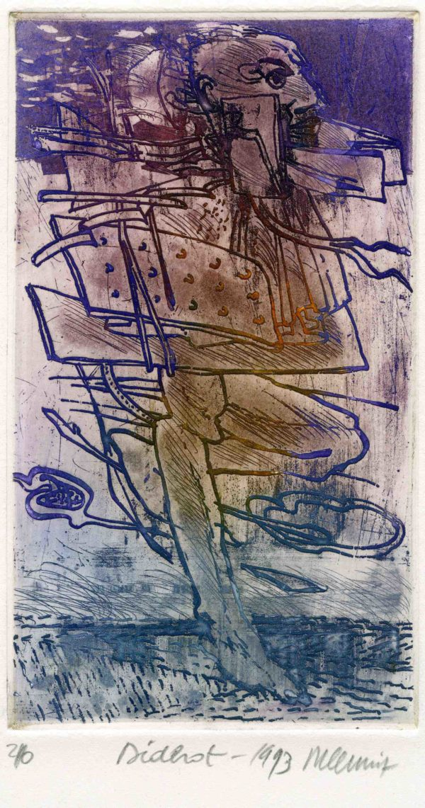 Roger Dewint - Diderot - Gravure