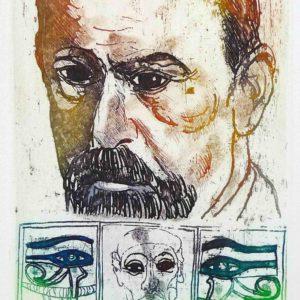 Roger Dewint - Freud - Gravure