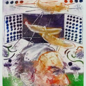 Roger Dewint - Agricola - Gravure