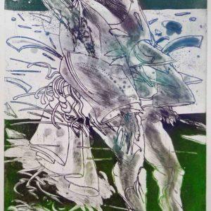 Roger Dewint - La grande instance - Gravure