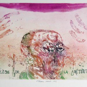 Ropger Dewint - L'aisance morale - Gravure