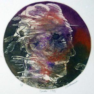 Roger Dewint - Tondo - Gravure