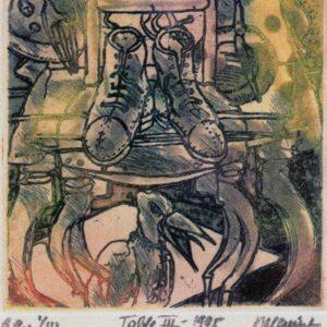 Roger Dewint - Table III - Gravure