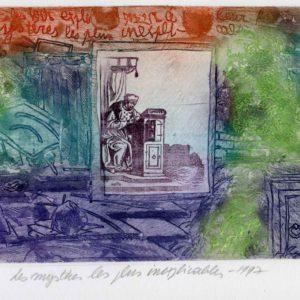 Roger Dewint - Bois d'Holbein - Les mystères les plus inexplicables - Gravure