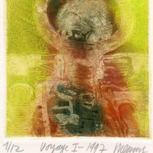 Roger Dewint - Voyage I - Gravure