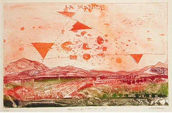 Roger Dewint - Lima La planicie - Gravure