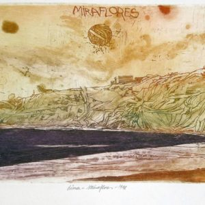 Roger Dewint - Lioma Miraflores - Gravure