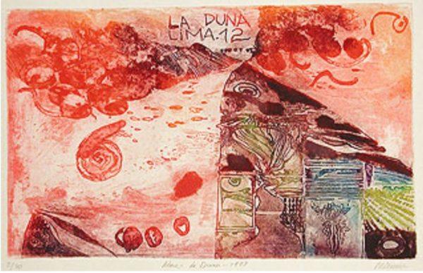 Roger Dewint - Lima La duna - Gravure