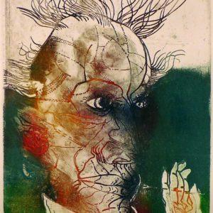 Roger Dewint - Portrait I - Gravure