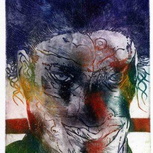 Roger Dewint - Portrait III - Gravure