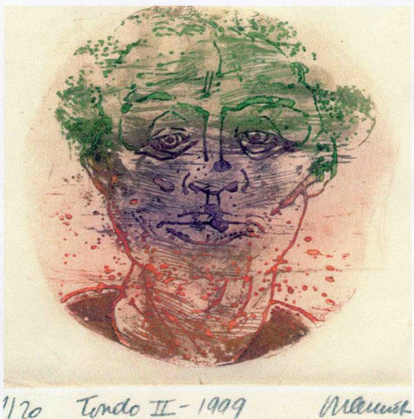 Roger Dewint - Tondo II - Gravure
