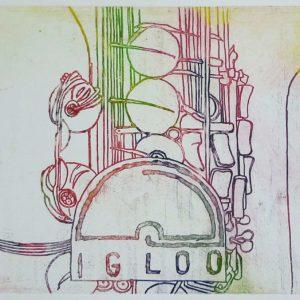 Roger Dewint - Igloo - Gravure