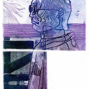 Roger Dewint - Vite - Gravure