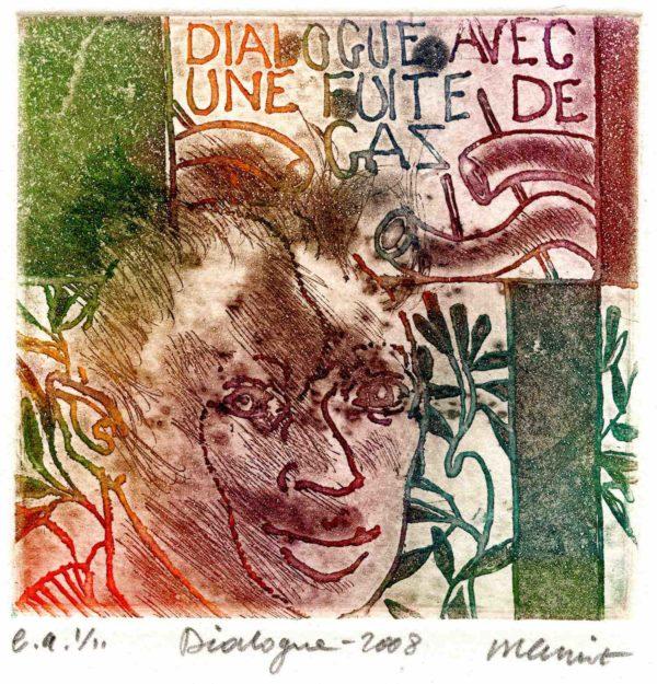 Roger Dewint - Dialogue - Gravure