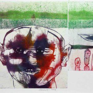 Roger Dewint - Absente - Gravure