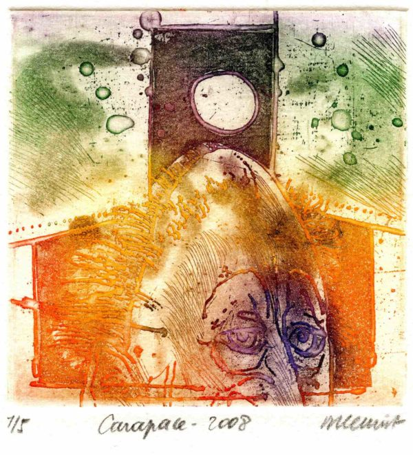 Roger Dewint - Carapace - Gravure
