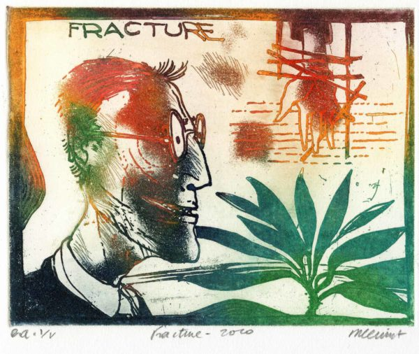 Roger Dewint - Fracture - Gravure