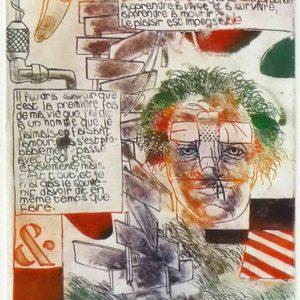 Roger Dewint - Illusion - Gravure