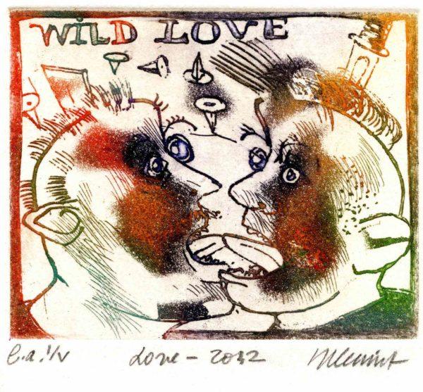 Roger Dewint - Love - Gravure
