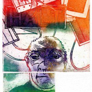 Roger Dewint - Garde - Gravure