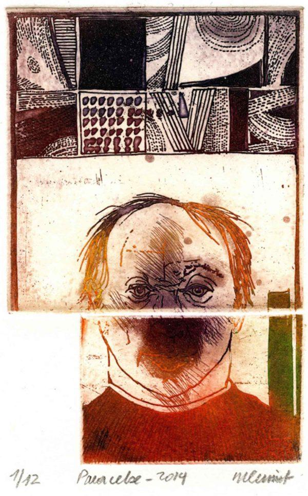 Roger Dewint - Paracelse - Gravure
